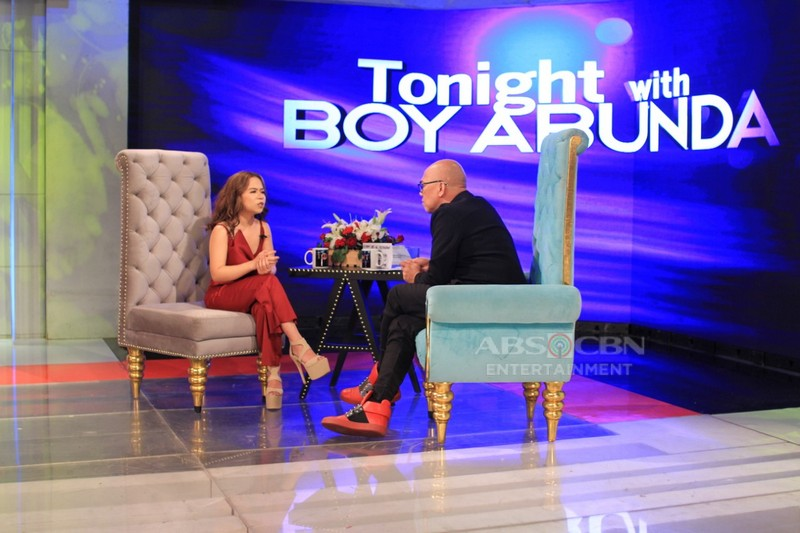 PHOTOS: Kiray Celis on Tonight With Boy Abunda