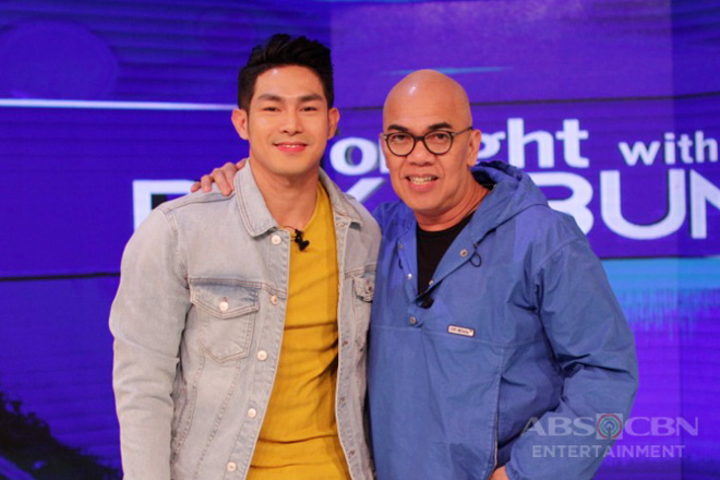 PHOTOS: Ion Perez on Tonight With Boy Abunda