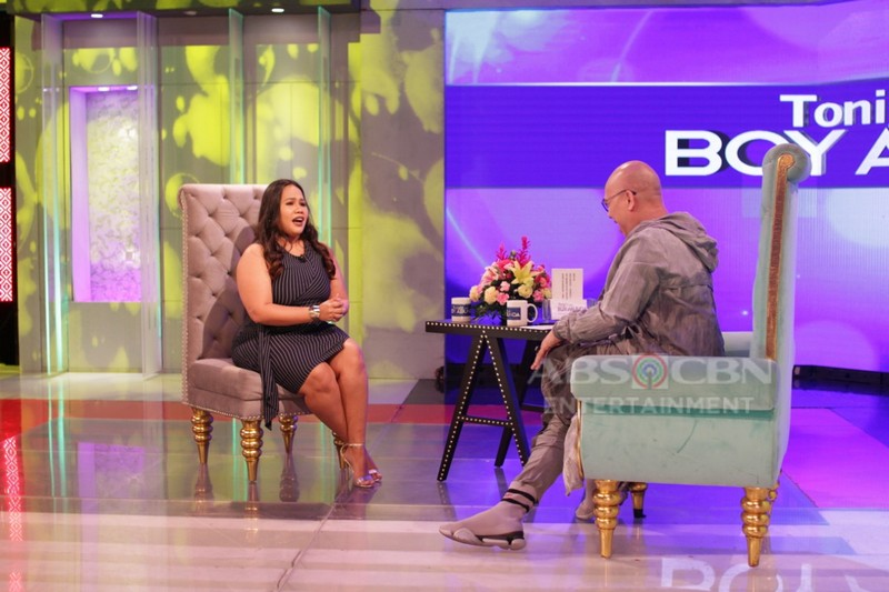 PHOTOS: Bituin Escalante on Tonight With Boy Abunda