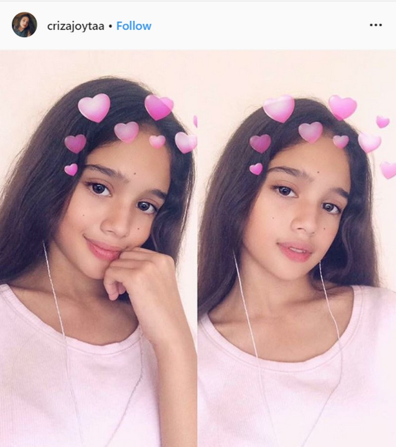 Can they pass as sisters? Check out Andrea and Criza's photos that capture their striking resemblance!