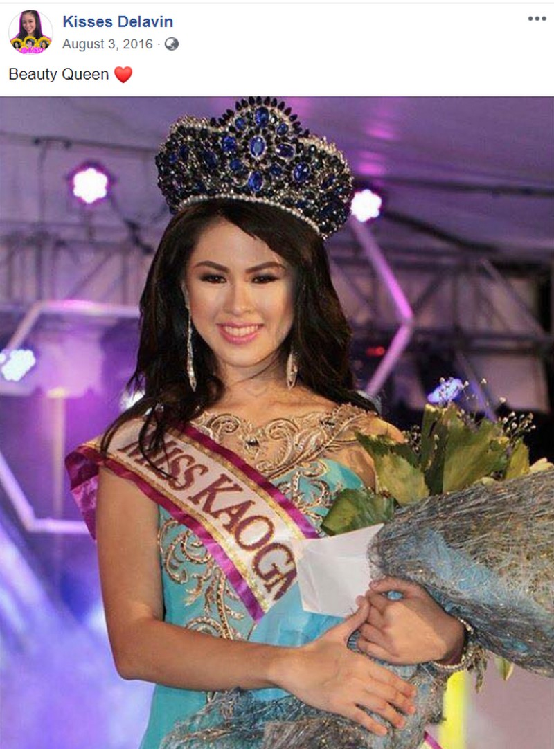 Can she be the next Miss Universe? Take a look at Kisses Delavin's throwback photos of her pageant days!