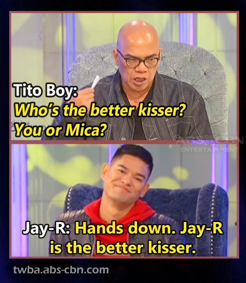 Can you describe your first kiss? Check out how TWBA guests daringly revealed their unforgettable experiences!