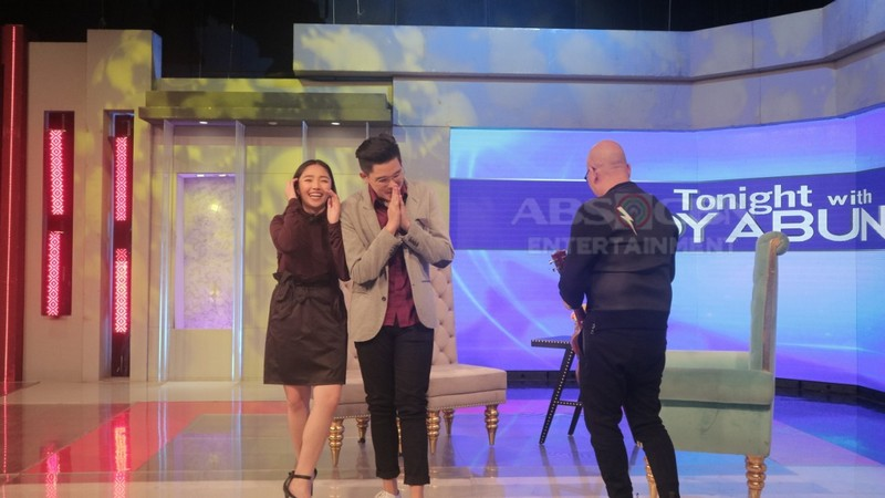 PHOTOS: Gian Wang and Missy Quino on Tonight With Boy Abunda