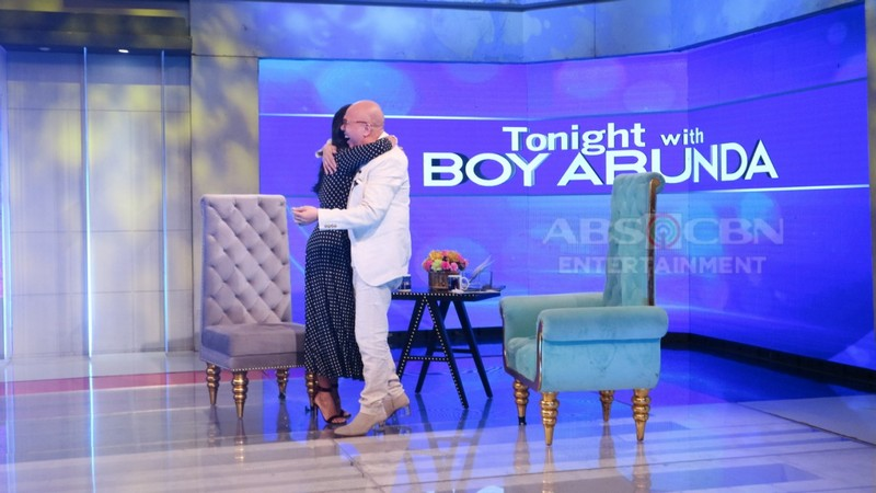 PHOTOS: Iza Calzado on Tonight With Boy Abunda