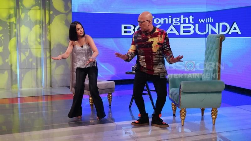 PHOTOS: Maja Salvador on Tonight With Boy Abunda
