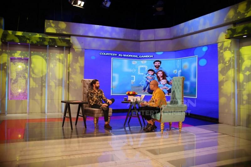 PHOTOS: Joross Gamboa on Tonight with Boy Abunda