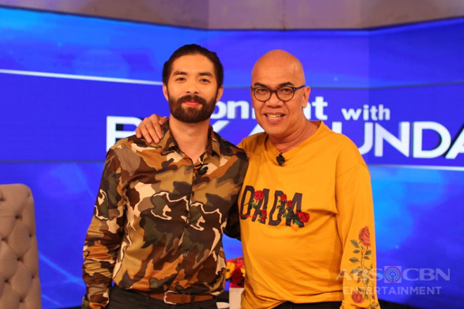 PHOTOS: Joross Gamboa on Tonight with Boy Abunda