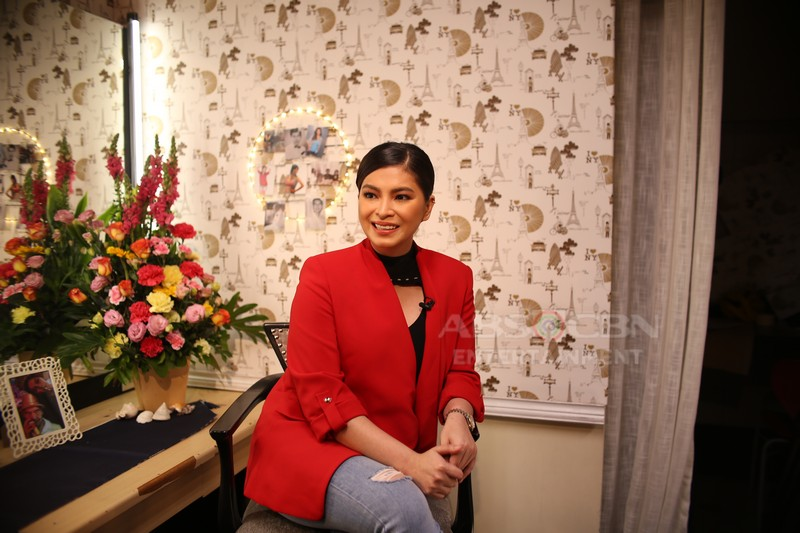 PHOTOS: Angel Locsin on Tonight with Boy Abunda