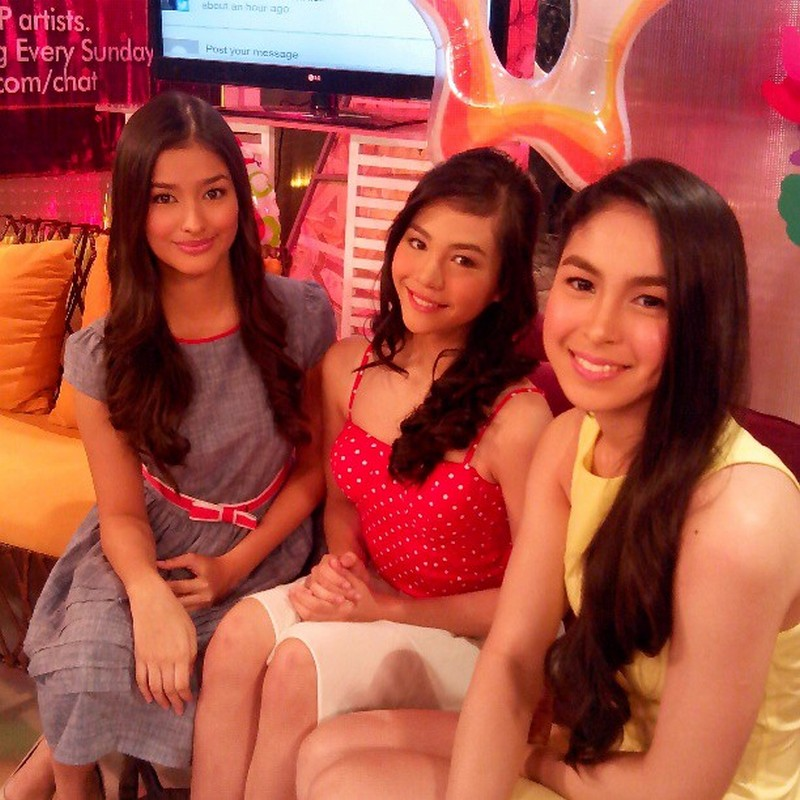 """Friendship Goals: These beautiful photos of Liza, Julia and Janella might give you a mini """"heart attack""""!"""