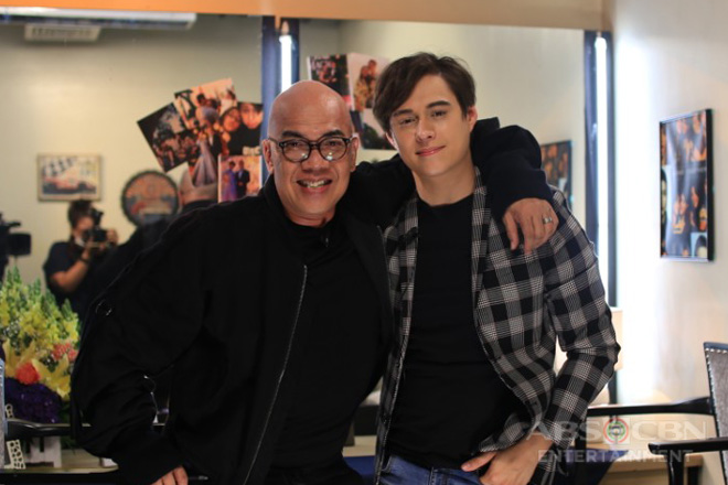 PHOTOS: Enrique Gil on Tonight with Boy Abunda