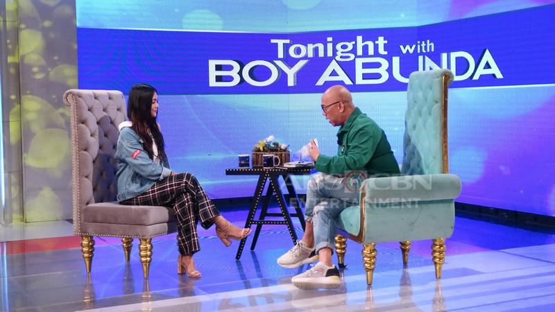 PHOTOS: Jelay Pilones on Tonight with Boy Abunda