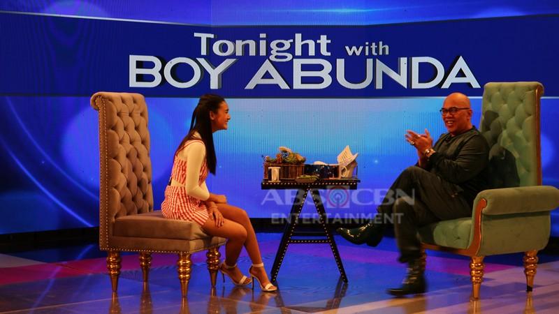 PHOTOS: Karina Bautista on Tonight with Boy Abunda