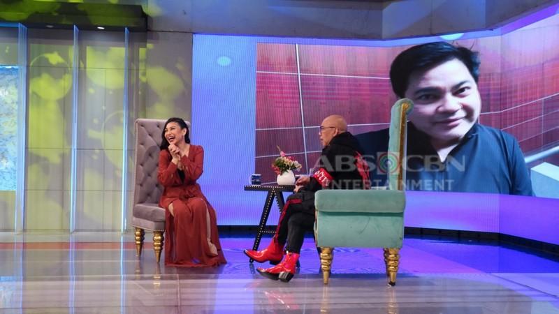 PHOTOS: Lani Misalucha on Tonight with Boy Abunda