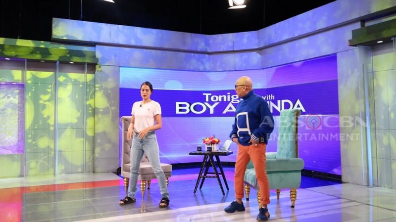 PHOTOS: Isabelle Daza on Tonight with Boy Abunda