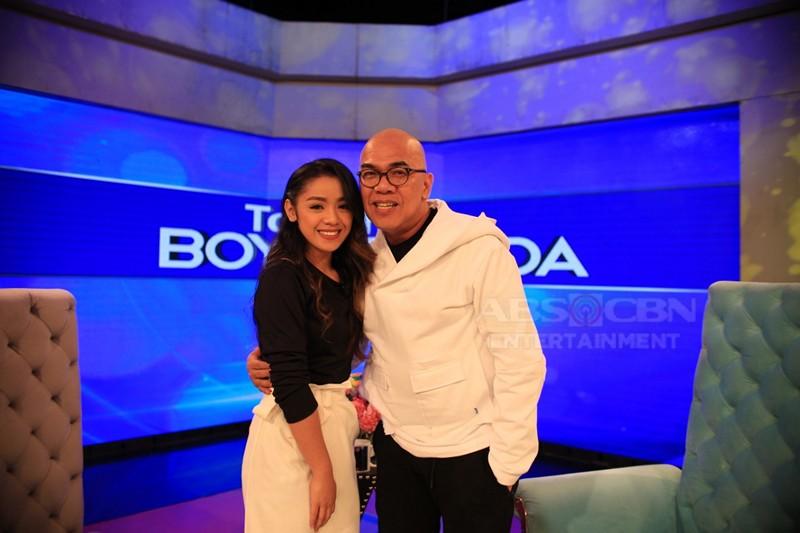 PHOTOS: Apey Obera on Tonight with Boy Abunda