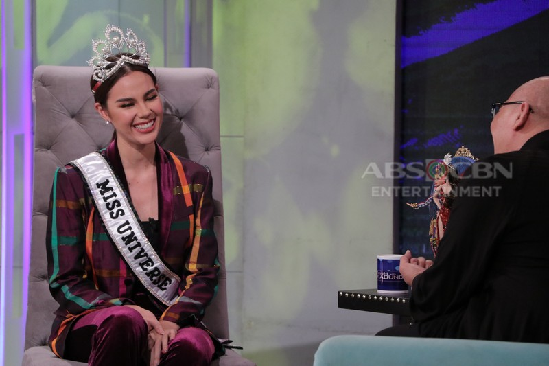 PHOTOS: Miss Universe 2018 Catriona Gray on Tonight With Boy Abunda