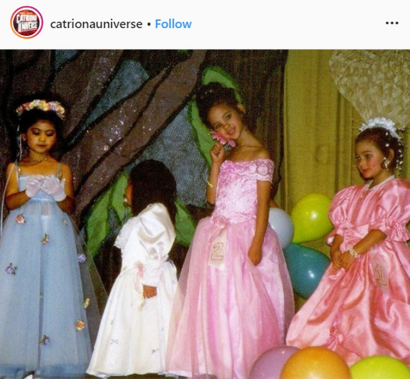 From Little Miss Philippines to Miss Universe: These throwback photos show that Catriona is born to be a beauty queen!