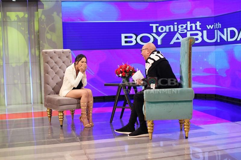 PHOTOS: Tori Garcia on Tonight With Boy Abunda