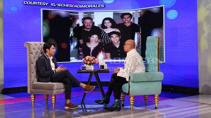 PHOTOS: Kiko Estrada on Tonight With Boy Abunda