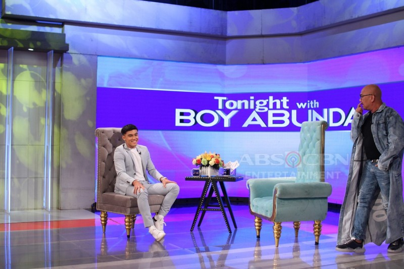 PHOTOS: Bailey May on Tonight With Boy Abunda