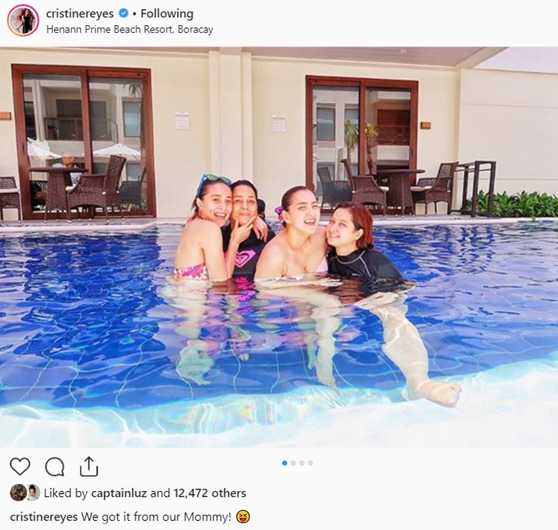 LOOK: Cristine Reyes' bonding moments with her sisters for life!