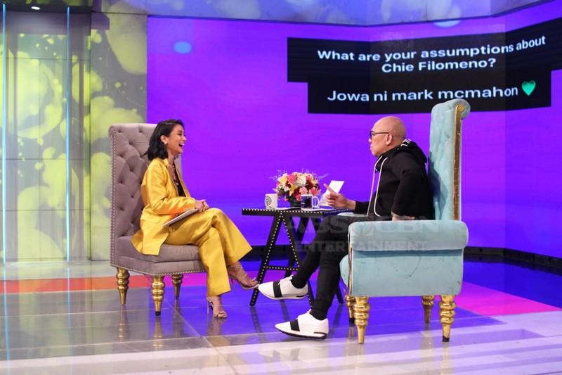PHOTOS: Chie Filomeno on Tonight With Boy Abunda
