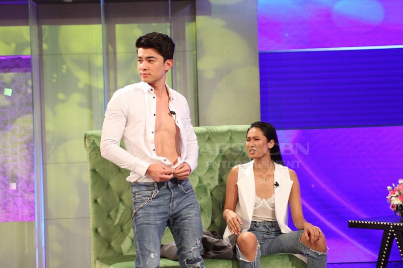 PHOTOS: Andre Brouillette and Lou Yanong take the hot seat on TWBA!