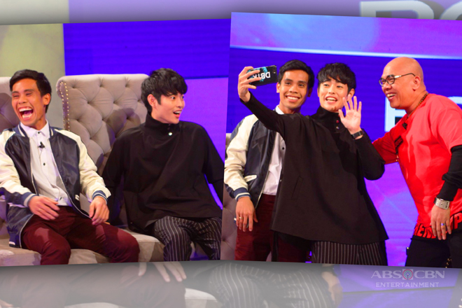 PHOTOS: Yamyam Gucong and  Fumiya Sankai on Tonight With Boy Abunda!