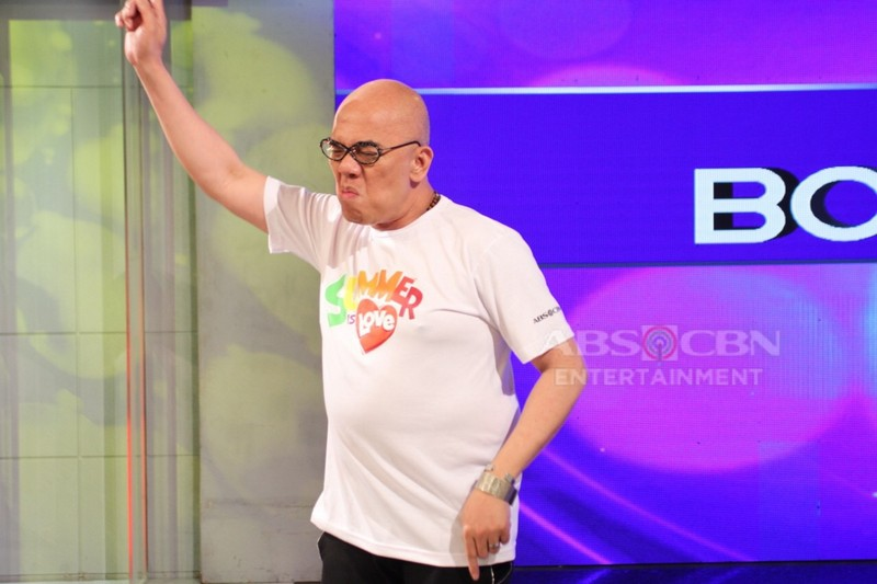 "PHOTOS: Boy Abunda on ABS-CBN Summer Station ID 2019 ""Summer Is Love"""