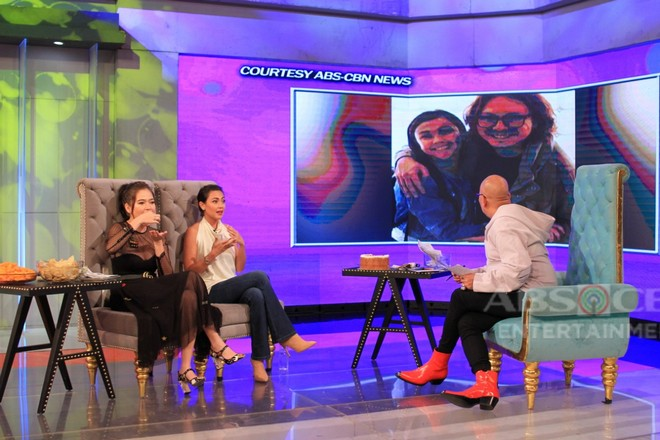 PHOTOS: Bela Padilla and Jodi Sta. Maria on Tonight With Boy Abunda