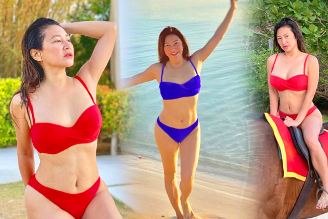 From Super B to Super D! These bikini photos will show that Rufa Mae can pull off Darna's two-piece costume!