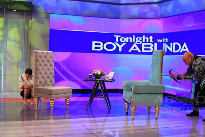 PHOTOS: Ryza Cenon on Tonight With Boy Abunda