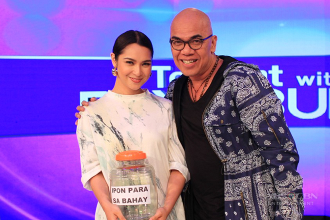 PHOTOS: Ryza Cenon on Tonight With Boy Abunda