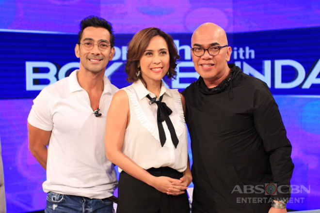 PHOTOS: Raymond Bagatsing and Rachel Alejandro on Tonight With Boy Abunda