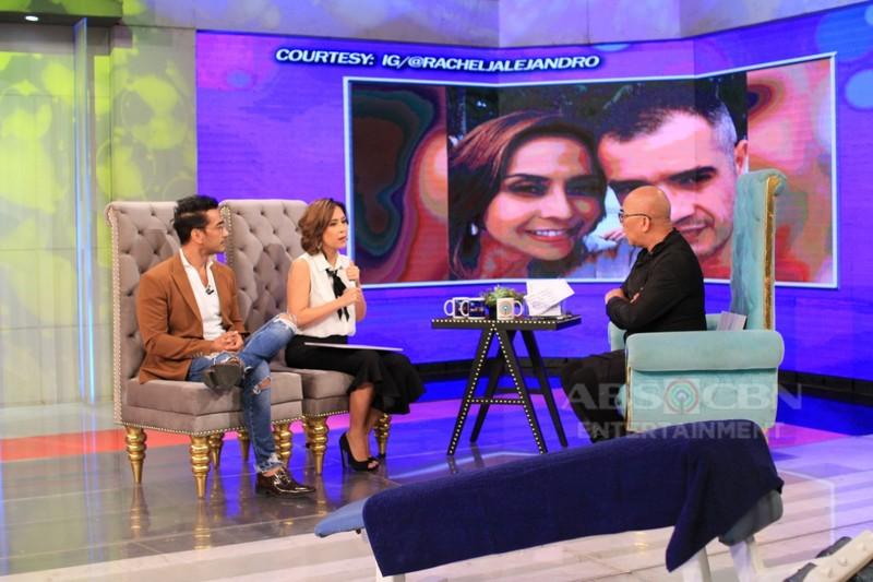 PHOTOS: Raymond Bagatsing and Rachel Alejandro on Tonight With Boy Abunda