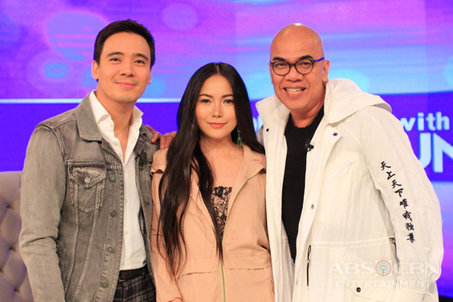 PHOTOS: Erik Santos and Yeng Constantino on Tonight With Boy Abunda