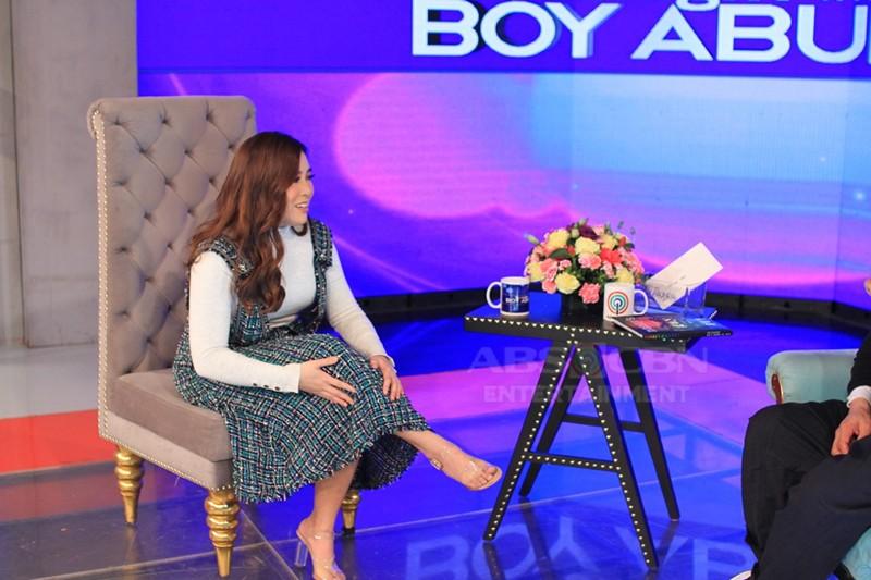 PHOTOS: Moira Dela Torre on Tonight With Boy Abunda