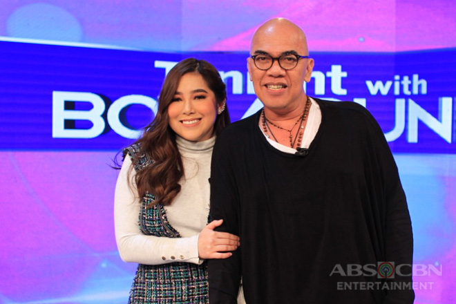 PHOTOS: Moira Dela Torre on Tonight With Boy Abunda
