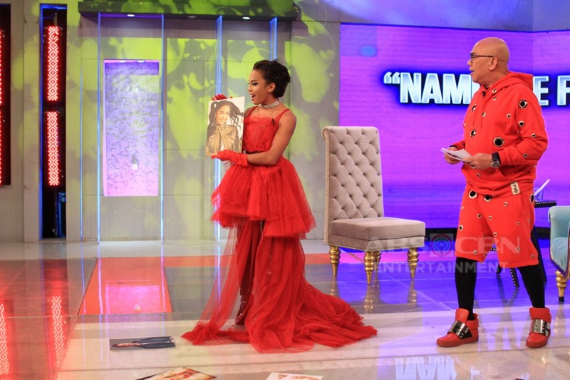 PHOTOS: Awra Briguela on Tonight With Boy Abunda