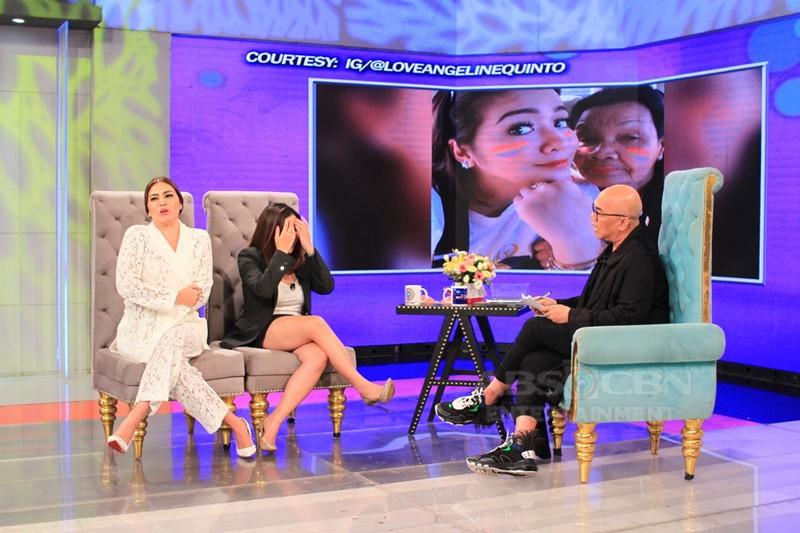 PHOTOS: Angeline Quinto and K Brosas on Tonight With Boy Abunda