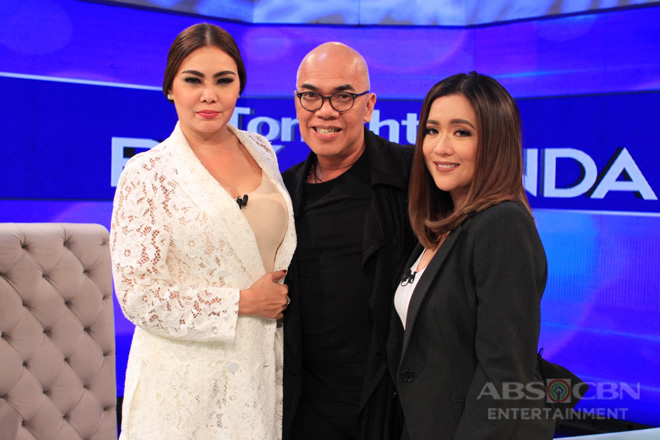 PHOTOS: Angeline Quinto and K Brosas on Tonight With Boy Abunda