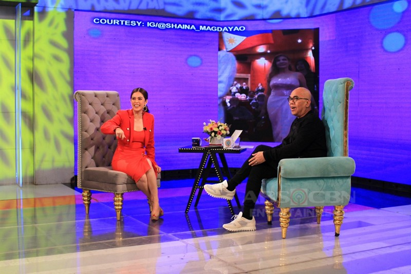 PHOTOS: Shaina Magdayao on Tonight With Boy Abunda