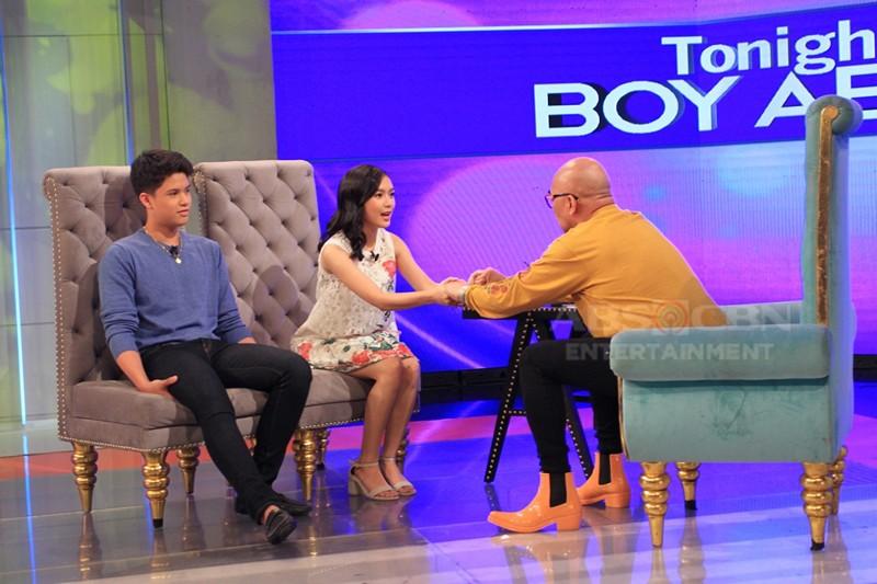 PHOTOS: Kyle Echarri and Francine Diaz on Tonight With Boy Abunda