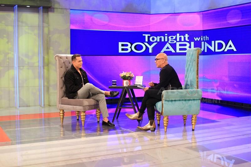 PHOTOS: Jake Cuenca on Tonight With Boy Abunda