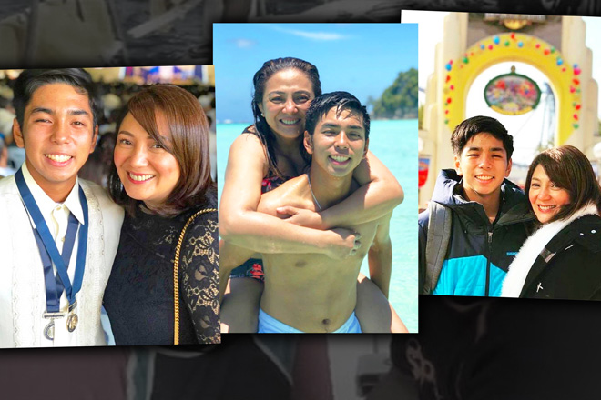 "IN PHOTOS: Cherry Pie Picache with her ""one and only love"" through the years"