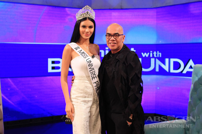 PHOTOS: Gazini Ganados on Tonight With Boy Abunda