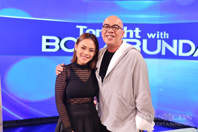 PHOTOS: Kim Molina on Tonight With Boy Abunda