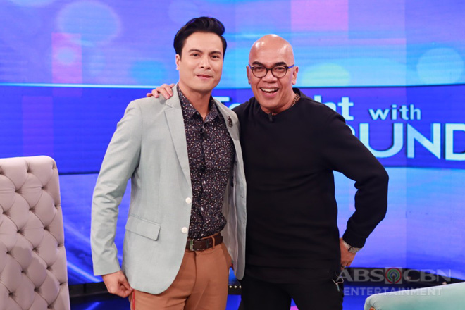 PHOTOS: Rafael Rosell on Tonight With Boy Abunda