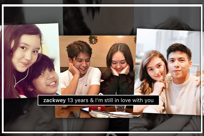 "From ""crush"" to ""in a relationship""! Take a look at Nash and Mika's sweet photos through the years"