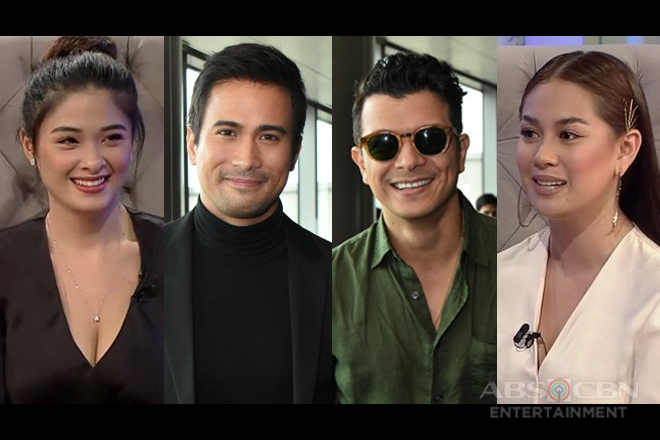 Yam Concepcion and Yen Santos choose the better kisser between Jericho Rosales and Sam Milby
